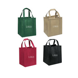 カスタム昇進の新しいデザインEcoの昇進のショッピング非編まれたPP非編まれた袋