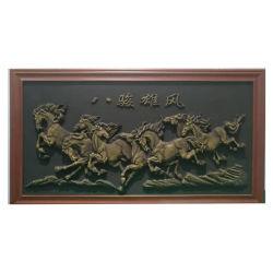 KOCEL Customized Bronze Skulptur Gold Pferd Haus und Büro Tiere Dekoration von 3D Printer