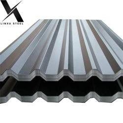 아연 도금 갈발륨 칼라민 싼 기골판형 강철 지붕판 제조업체