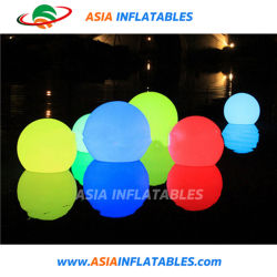Luz LED inflables decoración Globo flotante de agua