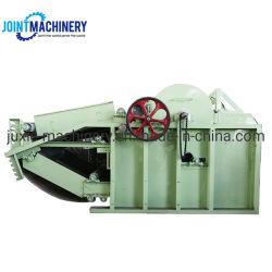 Gute Ausgleich-Abfall-Baumwolle, die Maschine mit der Kapazität 400kgs/H aufbereitet