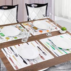 حصيرة طاولة بلاستيكية مخصصة PP للزينة