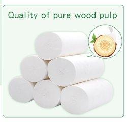 Polpa de madeira virgem de alta qualidade Coreless Rolo de papel higiénico