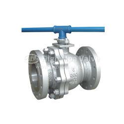 Из нержавеющей стали ANSI/CF8 CF8m/CF3 CF3m конец с фланцем с плавающей запятой шаровой клапан