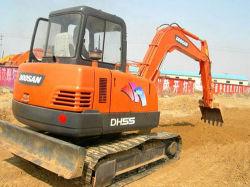 Usado uma boa qualidade/80% Novo Doosan 55/60/75 escavadoras hidráulicas/6 Ton escavadoras hidráulicas/Escavadores/JCB