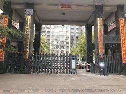 Portões colapsável dobrável de alumínio Automática Industrial Capota Main Gate para casa