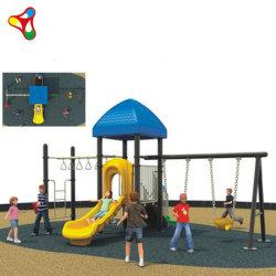 Combo Sport & Divertimento Parco di divertimenti Bambini Slide in plastica all'aperto Giochi di altalene