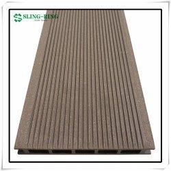 خشب أبيض النتوء WPC تتشوية الخشب البلاستيك المركب سطح الخشب سطح المنكش حلّها على الأرضية الخارجية التي تغطي أرضية اللوح، تجانب الصين بأفضل ما يمكن فك تشنج WPC