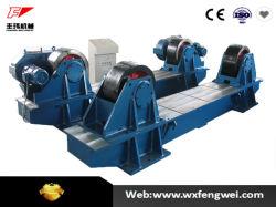 管の溶接容量2への10トンのための油圧調節可能な回転ローラー