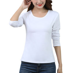 شانجيان سبرينج وسفلى بيونش كورى جديد كاندى سينسز إس قميص ذو لون صلب عادي بالأكمام المستديرة