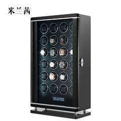 24 вращателей клапанов или стеклоподъемников задних дверей деревянные часы коробка для хранения механического стеклоподъемника задней двери с помощью ЖК сенсорный экран