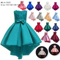 شخصية أميرة [درسّ] [جرل] حزب ثوب أطفال أن يرتدي [فشيونبل كلوثس] أطلس قماش [ببي جرل] طفلة ملابس لباس داخليّ 11 ألوان في مخزون ثوب