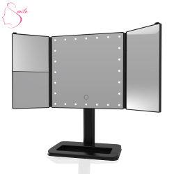 [شنس] جيّدة مستحضر تجميل مرآة [لد] ضوء لأنّ يرتدي مرآة مستحضر تجميل مرآة