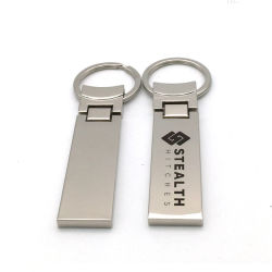 Logotipo do laser de liga de zinco de Metal Plano Dom promocionais da empresa titular da chave de plano de conjunto de chaves