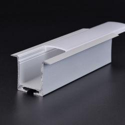 Алюминиевый канал потолочные светильники акцентного освещения алюминиевый профиль линейных освещение для гибкой LED газа