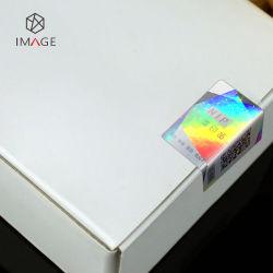 De Stickers van het Hologram van de Veiligheid van het Serienummer van de Code van Qr voor de Mobiele Doos van de Telefoon