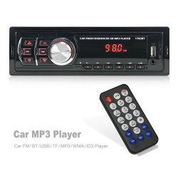 1DIN universal coche MP3 Reproductor de radio FM estéreo Bluetooth USB el Sistema de audio