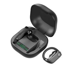 624005784401/6tinderala Tws Hbq imprägniern drahtlose Bluetooth sport-Ohr-Haken-Prokopfhörer 950mAh Ipx7 des Kopfhörer-V5.0 Stereokopfhörer HD Mic