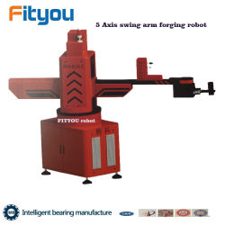 Roulement de pivotement automatique de l'établissement de 5 axes du bras robot forgeage