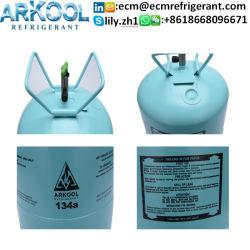 La Chine de réfrigérant R134A de la fabrication des bouteilles de gaz