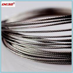 持ち上がることのための多層カーボンまたはステンレス鋼ワイヤーロープ