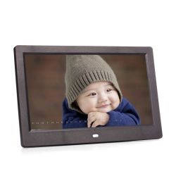 10.1 Bildschirmanzeige-Digital-Foto-Rahmen des Zoll-1024*600 LCD mit LED-Hintergrundbeleuchtung