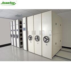 Dossier médical de l'hôpital de stockage du système de classement mécanique compacte dans Office