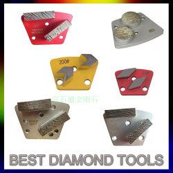 Diamante de cambio rápido de molienda de Metal Pad para esmeriladora de piso