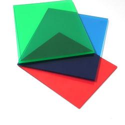 UV semi recouvert de feuille de solide en polycarbonate transparent