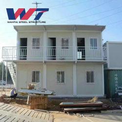Panel sándwich de material y Hotel Casas contenedor de acero de la casa de contenedores móviles de alta calidad para la Garita Casa