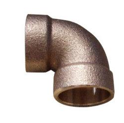 90degに合う青銅色のはんだの肘90deg/のGunmetal