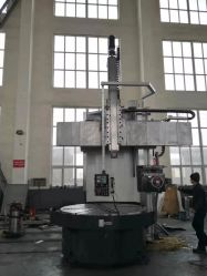 Une seule colonne verticale CNC Lathe/Program-Controlled Single-Column tour