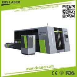 500W-3000W мощность лазера машины, автоматическая загрузка системы для обработки металла