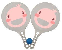 Balle de tennis Paddle avec logo pour cadeau de promotion de l'impression