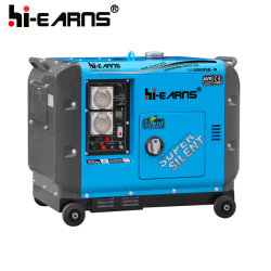 leiser Typ Dieselgenerator des neuen Modell-6.5kw für Hauptgebrauch (DG8500SE-N)