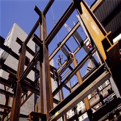 Taller de tubo de acero de acero galvanizado la construcción de inmuebles para almacén