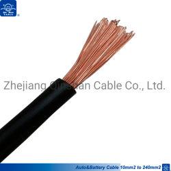 cavo della batteria del collegare di rame del PVC di 10mm2 16mm2 25mm2 35mm2 50mm2