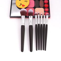 Schoonheidsmiddelen 5 van de premie de PCs Geplaatste Synthetische Borstel van de Make-up van het Haar