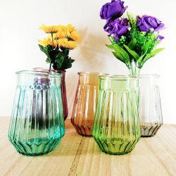 Фантазии моды фантастические красочные стекла ваза цветов для использования в домашних условиях