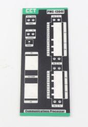 Het Controlebord van het Polycarbonaat van de steen etiketteert Sticker