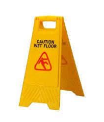 Scheda di plastica del segnale di pericolo del pavimento del segno bagnato di plastica di avvertenza