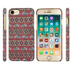Modèle d'impression de l'éléphant de style classique/un téléphone cellulaire mobile cellulaire Étui pour iPhone (6/7/8/6s/8s/X Plus/Xs Max/Xr/XS/8Plus)