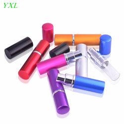 Горячие продажи мини-Портативный аккумулятор из алюминия духи бачок с опрыскивания и Пустой Косметический упаковочных контейнеров с подъемом