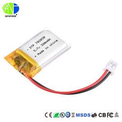 Hot Sale batterie polymère de lithium de qualité supérieure 702030 3,7 V 380mAh