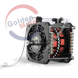 96V 20kw motor del coche eléctrico con el controlador, el motor de motocicleta eléctrica