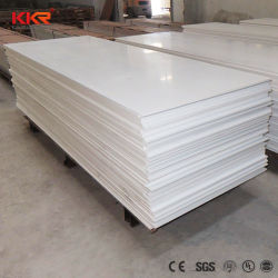 Corian feuilles acrylique blanc modifié de 12mm Surface solide Decoration Material