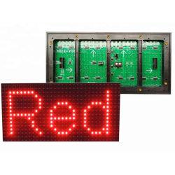 Для поверхностного монтажа для использования вне помещений красного цвета P10 светодиодный знак для текста
