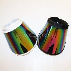 새로운 도착 연약한 플라스틱 반대로 UV 차양판 모자