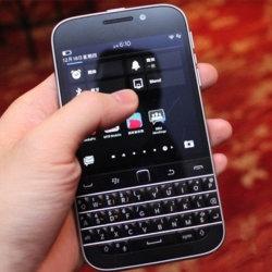 Het originele Geopende Toetsenbord Smartphone gebruikte de Mobiele Telefoons van Cellphone van het Scherm van de Aanraking Q20