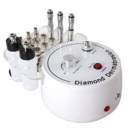 3 em 1 Micro Crystal Dermoabrasão máquina com o Removedor de cabeça negra